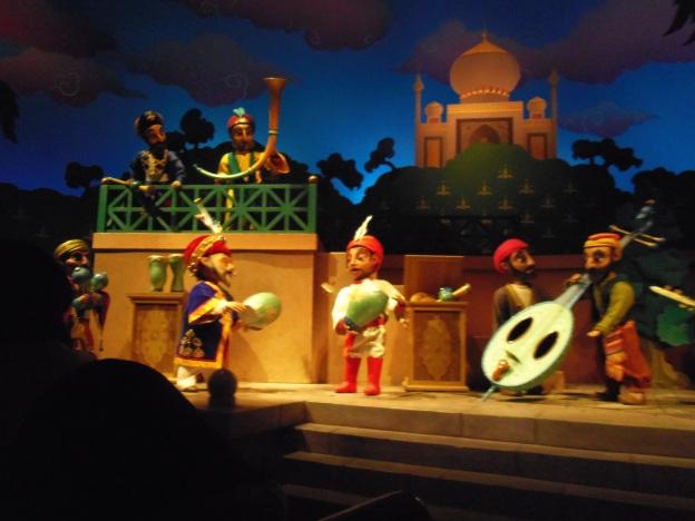 Perjalanan Sinbad, semacam istana boneka gitu deh..