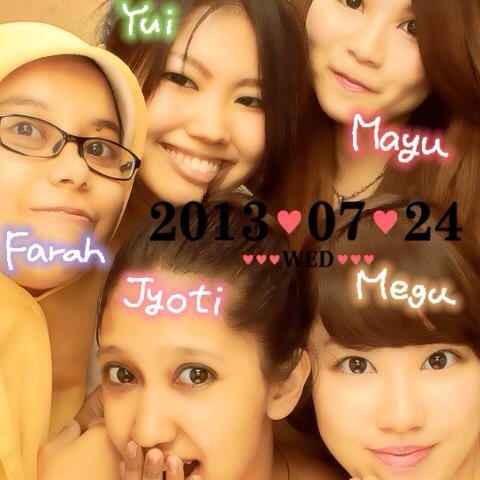24 Juli 2013, Last meeting with my buddies