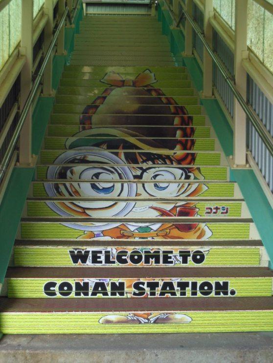 Tangga dengan Conan