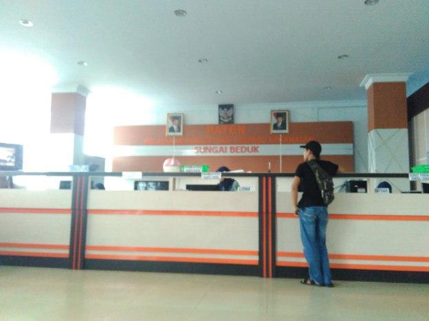 kantor kecamatan Sungai Beduk, Paten!